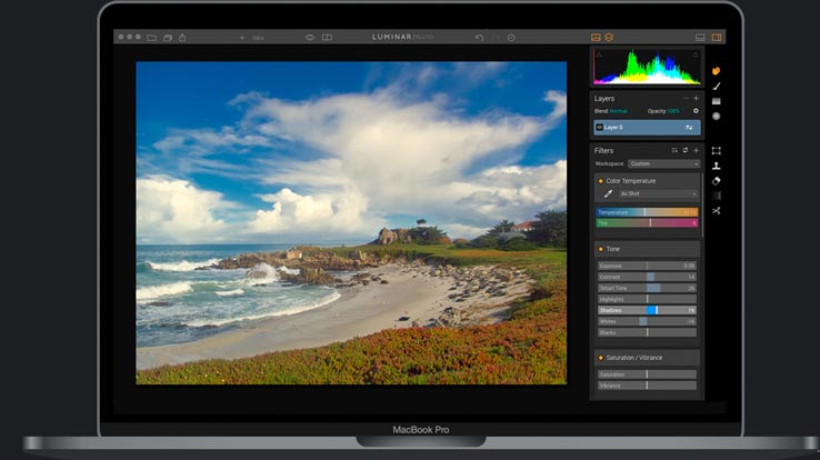 Photo Editing Software for Mac by Macphun luminar golden hour