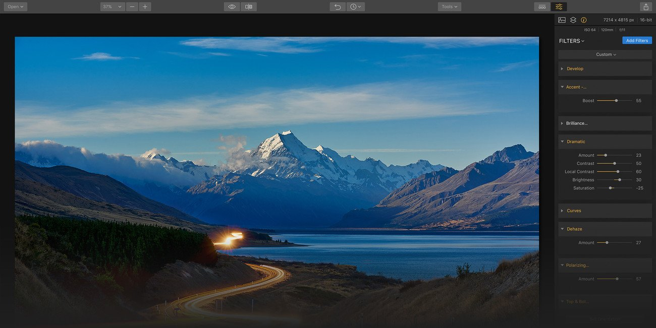Photo Editing Software for Mac by Macphun   luminar